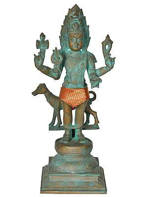 The Sattvik Form of Lord Bhairava
