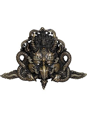 Tibetan Buddhist Garuda Mask - Made in Nepal