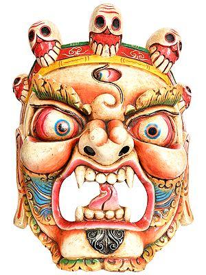 Large Size Mahakala Mask - Tibetan Buddhist