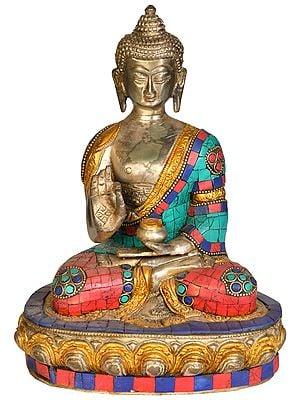 Tibetan Buddhist Deity Buddha in Vitark Mudra