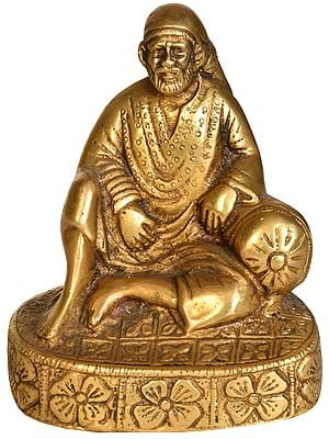 Sai Baba with Cushion