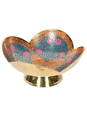Decorated Fruit Bowl