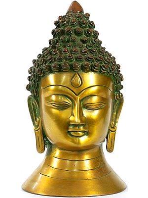 Tibetan Buddhist Lord Buddha Head