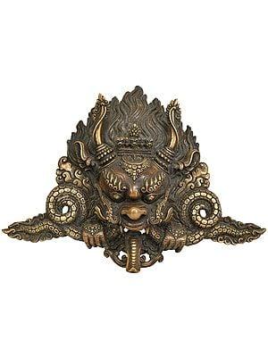 (Tibetan Buddhist Deity) Garuda Wall Hanging Mask