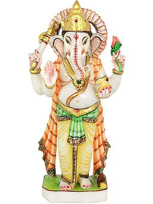 Four Armed Standing Ganesha