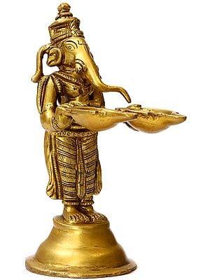 Lord Ganesha Lamp
