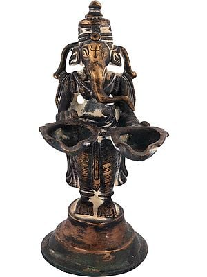 Lord Ganesha Lamp