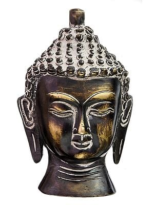 The Buddha Head (Small Sculpture)