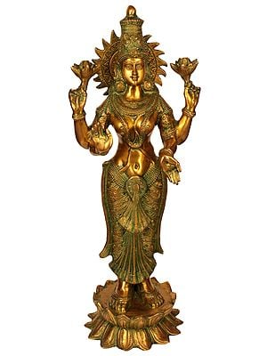 Large Size Four-Armed Goddess Lakshmi