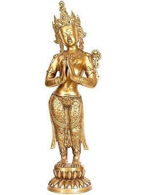 Tibetan Buddhist Namaste Tara