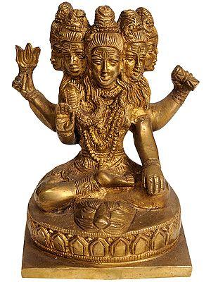 Five-Headed Shiva (Sadashiva)