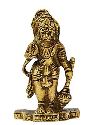 Standing Lord Hanuman (Small Statue)