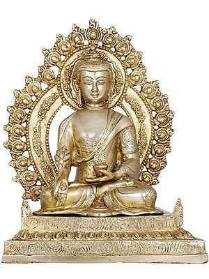 The Unfailing Healer of the Ills of Samsara (Tibetan Buddhist God Medicine Buddha)