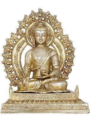 The Unfailing Healer of the Ills of Samsara (Tibetan Buddhist God Medicine Buddha)