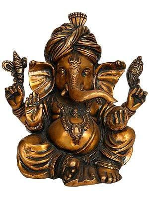 Turbaned Ganesha