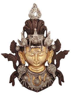 Tibetan Buddhist Goddess Tara Wall Hanging Mask