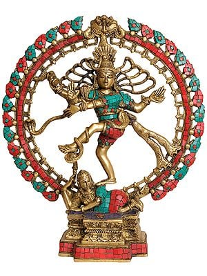 Nataraja (with Twin Hued Inlay Work)