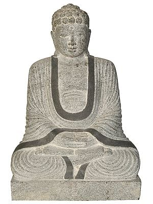 Japanese Buddha in Meditation