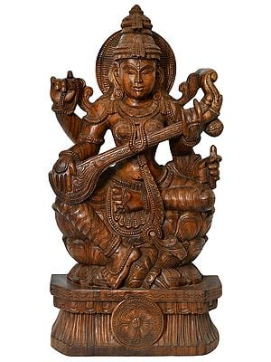 Goddess Saraswati - Large Size