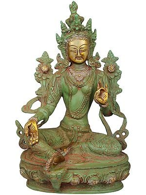 Tibetan Buddhist Goddess Green Tara - The Goddess Who Removes All Fears