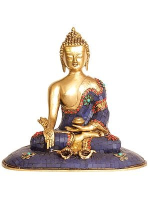 Medicine Buddha with Dorje in Front of Him