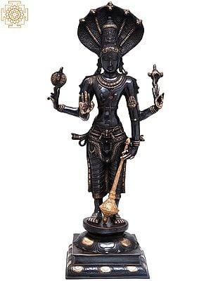 Large Size Chaturbhuja Vishnu