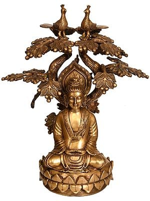The Buddha Under the Bodhi-Tree