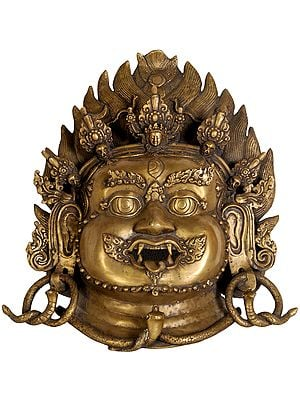 Mahakala Wall Hanging Mask