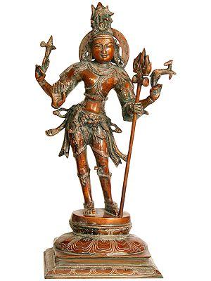 Lord Shiva as Pashupatinath