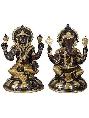Ganesha-Lakshmi