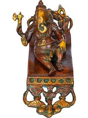 Relaxing Ganesha