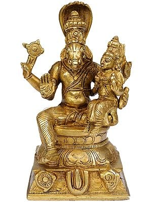 Hayagriva Avatar of Vishnu with Shakti