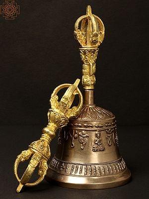 Tibetan Buddhist Bell Dorje