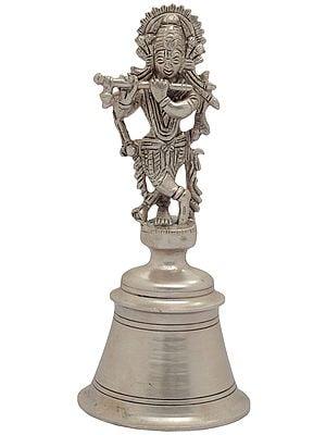 Lord Krishna Handheld Bell