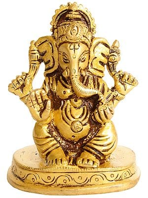 Lord Ganesha (Small Sculpture)