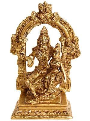 Bhagawan Narasimha with Lakshmi