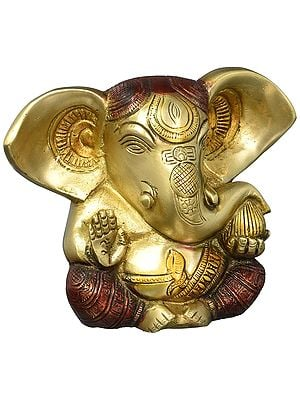 Baby Ganesha with Large Ears