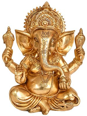 Adorable Ganesha