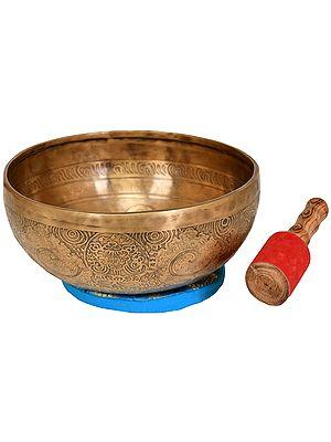 Lord Ganesha Ritual Singing Bowl - Tibetan Buddhist