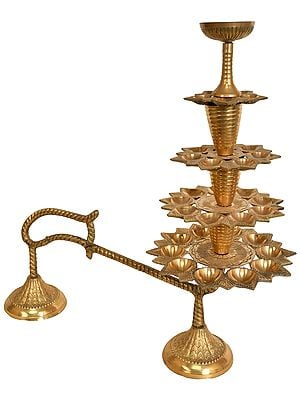 Large Size Aarti Lamp