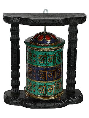 Prayer Wheel from Nepal (Tibetan Buddhist)