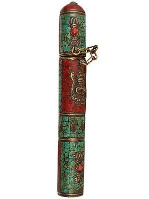 Tibetan Buddhist Incense Sticks Holder