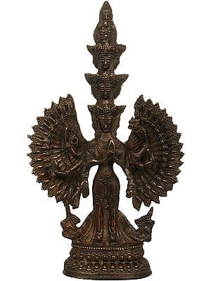 Tibetan Buddhist Deity- Thousand Armed Avalokiteshvara