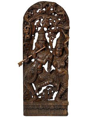 Dancing Radha Krishna (Large Size)