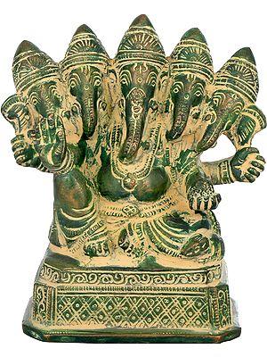 Panch-Mukhi Ganesha