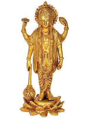Four-Armed Standing Vishnu