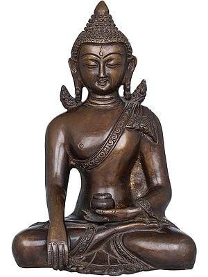 Padmasana Bhoomisparsha Buddha WIth Miniscule Wings