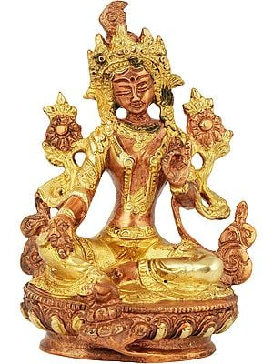 Tibetan Buddhist Goddess Green Tara