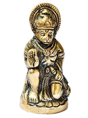 Seated Hanuman (Small Statue)
