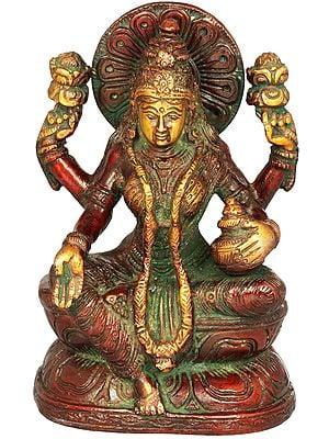 Seated Goddess Lakshmi